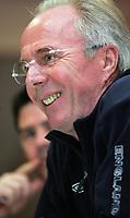 Photo: Paul Thomas.<br /> England Press Conference. 02/06/2006.<br /> <br /> Sven Goran Eriksson.