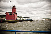 Stock Image / Holland Harbor Lighthouse