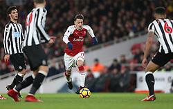 16 December 2017 London : Premier League Football : Arsenal v Newcastle United : Mesut Ozil of Arsenal.<br /> (photo by Mark Leech)