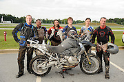 "The ""Spartanburg Six"" competitors at the 2008 BMW GS Trophy Challenge competition held at BMW's Performance & Test Facility in Spartanburg, South Carolina."
