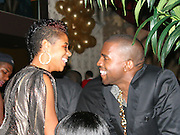 Kelis & Kayne West. ìPreî Pre-VMA Party Hosted by Unik and Kelis .PM Lounge .New York, NY, USA.Tuesday, August 29, 2006.Photo By Selma Fonseca/ Celebrityvibe.com.To license this image call (212) 410 5354 or;.Email: celebrityvibe@gmail.com; .Website: http://www.celebrityvibe.com/. ....