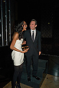 Jourdan Dunn; CHRISTIAN SLATER, British Fashion Awards Ceremony. Supported by Swarovski and organised by British Fashion Council. Lawrence Hall. Greycoat St. London SW1. 25 November 2008 *** Local Caption *** -DO NOT ARCHIVE-© Copyright Photograph by Dafydd Jones. 248 Clapham Rd. London SW9 0PZ. Tel 0207 820 0771. www.dafjones.com.