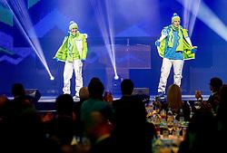 Maja Vtic and Ales Music during presentation of Team Slovenia for Sochi 2014 Winter Olympic Games on January 22, 2014 in Grand Hotel Union, Ljubljana, Slovenia. Photo by Vid Ponikvar / Sportida