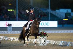 Hughes Gareth, GBR, Don Carissimo<br /> Grand Prix Freestyle  <br /> Royal Windsor Horse Show<br /> © Hippo Foto - Jon Stroud