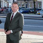 NLD/Amsterdam/20181027 - Herdenkingsdienst Wim Kok, Peter Rehwinkel en partner Michel Zeegelaar