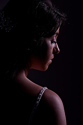 Amanda D'Aloisio Young Wedding Portrait