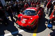 January 26-29, 2017: Rolex Daytona 24. 62 Risi Competizione, Ferrari 488 GTE, Toni Vilander, James Calado, Giancarlo Fisichella