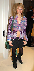 MISS ALICE RUGGE PRICE  at the UK launch of Tarun Tahiliani Design in association with the British Luxury Council held at The Knightsbridge, London SW7 on 10th March 2005.<br /><br />NON EXCLUSIVE - WORLD RIGHTS