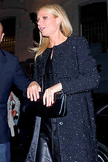 OCT 29 2012 Gwyneth Paltrow, Arrives for Boss Nuit Pour Femme Party