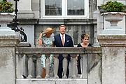 Viering van 200 jaar van het Koninkrijk der Nederland in Maastricht / Celebration of 200 Years of the Kingdom of the Netherlands in Maastricht <br /> <br /> Op de foto: Koning Willem-Alexander en Koningin Maxima / King Willem Alexander and Queen Maxima