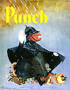 Punch (Front cover, 14 October 1959)