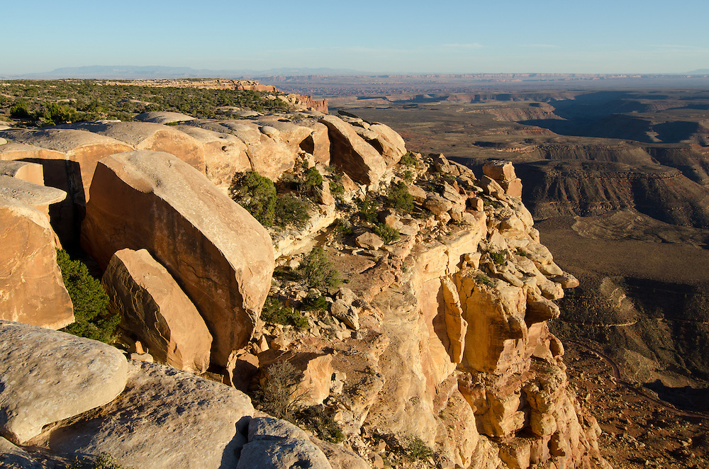 Rim of Cedar Mesa, Utah.