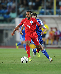 Theo Walcott of England (Arsenal)  - Mandatory byline: Joe Meredith/JMP - 07966386802 - 05/09/2015 - FOOTBALL- INTERNATIONAL - San Marino Stadium - Serravalle - San Marino v England - UEFA EURO Qualifers Group Stage