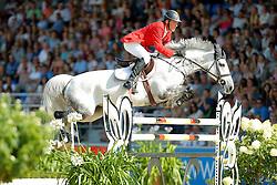 Beerbaum Ludger, (GER), Chiara<br /> CSIO Nations Cup - Mannheim 2015<br /> © Hippo Foto - Stefan Lafrentz