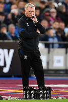 Football - 2021 / 2022  Premier League - West Ham United vs Brentford - The London Stadium - Sunday 3rd October 2021<br /> <br /> West Ham United manager David Moyes.<br /> <br /> COLORSPORT/Ashley Western