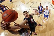 Kaleb Tarczewski at the NBPA Top100 camp at the John Paul Jones Arena Charlottesville, VA. Visit www.nbpatop100.blogspot.com for more photos. (Photo © Andrew Shurtleff)