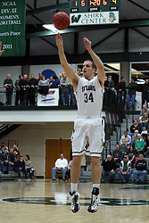 21 February 2015:  Ryan Coyle during an NCAA men's division 3 CCIW basketball game between the Elmhurst Bluejays and the Illinois Wesleyan Titans in Shirk Center, Bloomington IL