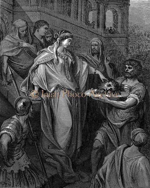 Dore 'The Daughter Of  Herod'  Head Of John The Baptist