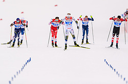 February 21, 2019 - Seefeld In Tirol, AUSTRIA - 190221 Oskar Svensson of Sweden competes in men's cross-country skiing sprint quarter final during the FIS Nordic World Ski Championships on February 21, 2019 in Seefeld in Tirol..Photo: Joel Marklund / BILDBYRN / kod JM / 87880 (Credit Image: © Joel Marklund/Bildbyran via ZUMA Press)