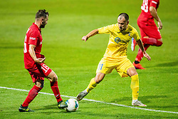 Tonci Mujan of NK Domzale during 2nd Leg Football match between NK Domzale and FC Balzan  in First Qualifying match of UEFA Europa League 2019/2020, on July 18, 2019 in Sports park Domzale, Domzale, Slovenia. Photo by Ziga Zupan / Sportida