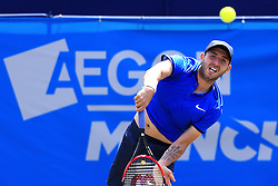Dan Evans of Great Britain - Mandatory by-line: Matt McNulty/JMP - 31/05/2016 - TENNIS - Northern Tennis Club - Manchester, United Kingdom - AEGON Manchester Trophy