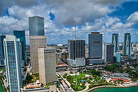 Downtown Miami featuring Bayfront Park
