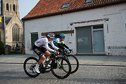 Grace Anderson (NZL) at Gent Wevelgem - Elite Women 2019, a 136.9 km road race from Ieper to Wevelgem, Belgium on March 31, 2019. Photo by Sean Robinson/velofocus.com