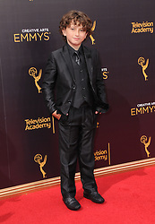 August Maturo bei den Creative Arts Emmy Awards in Los Angeles / 100916<br /> <br /> <br /> *** at the Creative Arts Emmy Awards in Los Angeles on September 10, 2016 ***