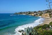 The Laguna Beach Shoreline Seen From Heisler Park