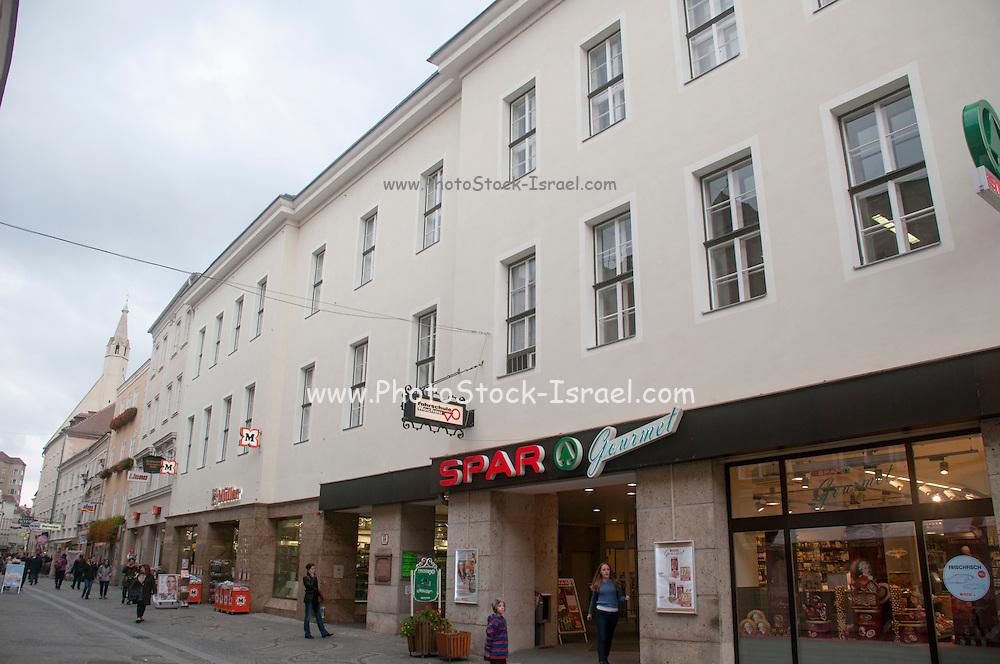 SPAR Convenience store Photographed in Krems, Austria