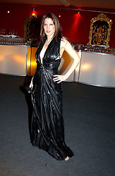 """PRINCESS TAMARA CZARTORYSKI-BOURBON at the 10th annual British Red Cross London Ball.  This years ball theme was Indian based - """"Yaksha - Yakshi: Doorkeepers to the Divine"""" and was held at The Room, Upper Ground, London on 1st December 2004.  Proceeds from the ball will aid vital humanitarian work, including HIV/AIDS projects that the Red Cross supports in the UK and overseas.<br /><br />NON EXCLUSIVE - WORLD RIGHTS"""
