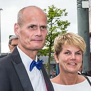 NLD/Amsterdam/20190525 - AmsterdamDiner 2019, Stef Blok en partner Ingrid Mol