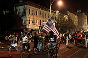 """September 4, 2016- Brooklyn, New York-United States: J'Ouvert 2016.is celebrated in the Brooklyn. With at least 3 people shot and 1 stabbing, this first time NYPD approved nightime fete was plagued with a series of violent acts that did put a damper on this J'Overt night. J'Ouvert derives from a French term """"jour overt"""" meaning day break. It dates back over 200 years when French plantation owners and stemmed from night celebrations where owners imitated slaves. This form of celebration was reversed when freed slaves began to mock their master's behavior and continued to use this form of celebration in remembrance of their emancipation.  (Photo by Terrence Jennings/terrencejennings.com)"""
