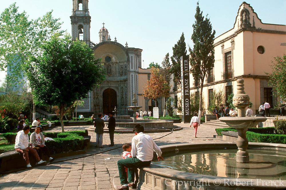 MEXICO, MEXICO CITY, ENTERTAINMENTS Franz Mayer Museum of Colonial Art on Avenue Hidalgo near Alameda Park
