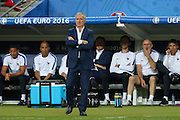 France Manager Didier Deschamps during the Euro 2016 final between Portugal and France at Stade de France, Saint-Denis, Paris, France on 10 July 2016. Photo by Phil Duncan.