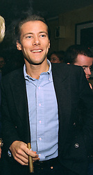 Party organiser EDDIE DAVENPORT at a party in London on 22nd October 1997.<br /> MCJ 28 MO