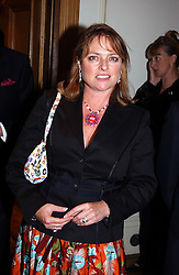 Former Blue Peter presenter JANET ELLIS mother of singer Sophie Ellis-Bextor and ? at The Caron Keating Foundation Dinner in honour of the late TV presenter who died in April 2004, held at The Savoy, London on 4th October 2004.<br /><br />NON EXCLUSIVE - WORLD RIGHTS