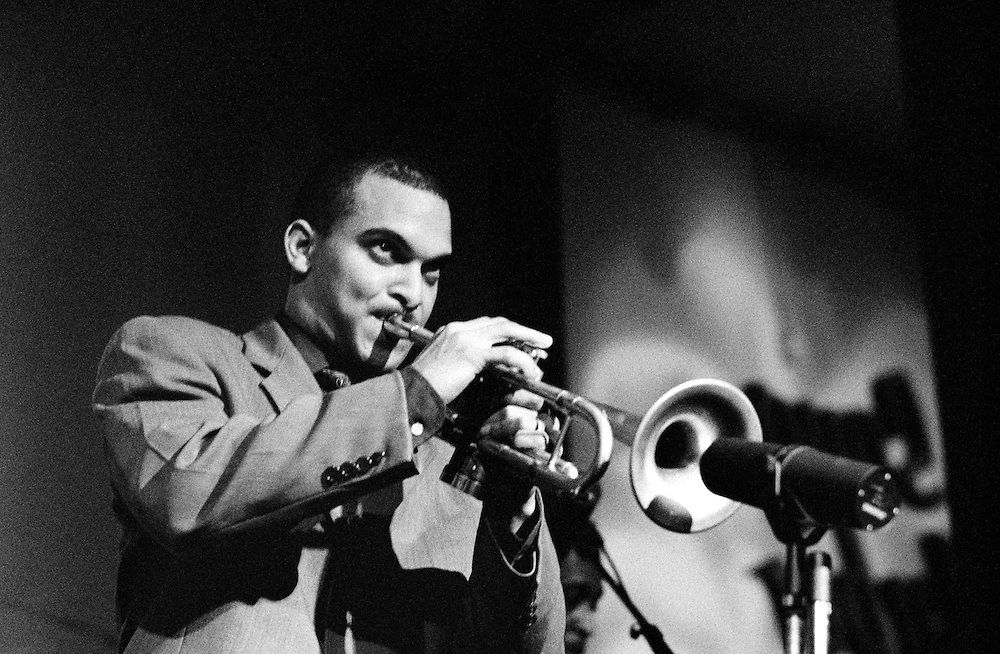Irvin Mayfield performing at Snug Harbor Jazz Bistro in New Orleans, Louisiana. USA. A 20x24 inch print of this photo is in the permanent collection of the Ogden Museum of Southern Art in New Orleans. Camera: Leica R8 / Lens: 180mm f/2.8 Elmarit-R / Film: Ilford Delta-3200 Professional
