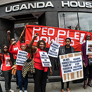 People power protest against Museveni dictatorship of Uganda must go in London, UK