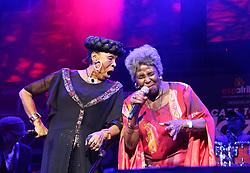 Apr 1, 2016 - Cape Town, Western Cape , South Africa - ABIGAIL KUBEKA and DOROTHY MASUKA performed at the 16th Annual Cape Town Jazz Festival, that took place at the Cape Town International Convention Centre. (Credit Image: © Bertram Malgas via ZUMA Wire)