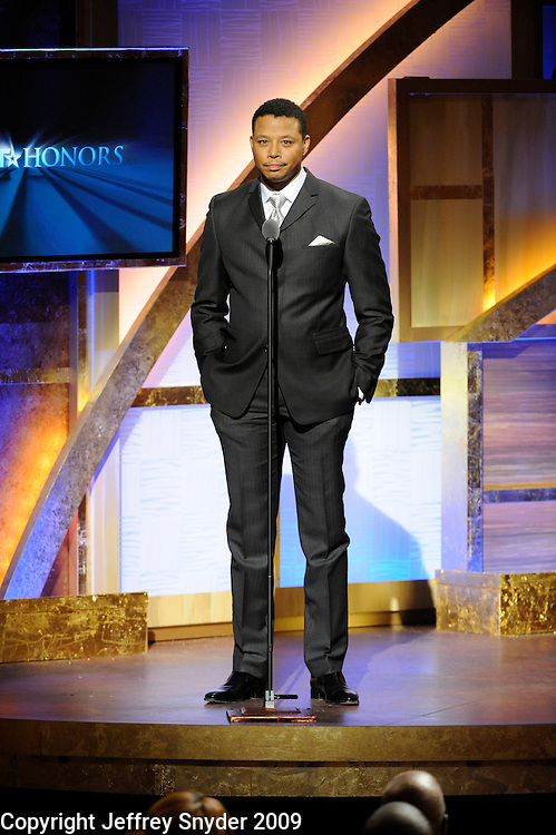 Terrence Howard at the 2nd Annual BET Honors