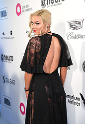 Lindsey Vonn attending the Elton John AIDS Foundation Viewing Party held at West Hollywood Park, Los Angeles, California, USA.