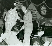 1944 Edgar Bergan & Louella Parsons At The Hollywood Canteen