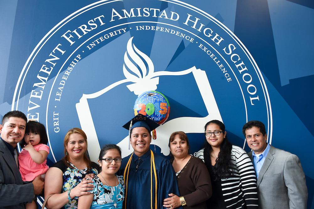 Mara Lavitt -- June 19, 2015<br /> Achievement First Amistad High School, New Haven, commencement 2015.