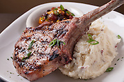 Another succulent image of the pork chop dinner at the Red Fox Bar and Grille. A fun and delicious restaurant to go to apre ski or any other night of the week while in New Hampshire. They are in Jackson in the White Mountains