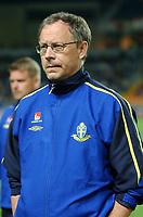 Fotball<br /> Treningskamp<br /> Portugal v Sverige<br /> 28. april 2004<br /> Foto: Digitalsport<br /> NORWAY ONLY<br /> <br /> LARS LAGERBACK (SWEDISH COACH)