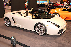 08 February 2007: Lamborghini Gallardo Spyder. The Chicago Auto Show is a charity event of the Chicago Automobile Trade Association (CATA) and is held annually at McCormick Place in Chicago Illinois.