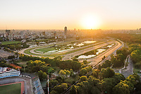 VISTA AEREA DEL HIPODROMO DE PALERMO, CIUDAD AUTONOMA DE BUENOS AIRES, ARGENTINA (PHOTO BY © MARCO GUOLI - ALL RIGHTS RESERVED. CONTACT THE AUTHOR FOR ANY KIND OF IMAGE REPRODUCTION)