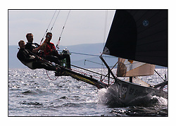 The 2004 Skiff Nationals at Largs held by the SSI.<br /> SP Systems helemd by Richard Hall.<br /> <br /> <br /> Marc Turner / PFM Pictures