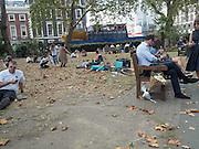 London park, 31 August,